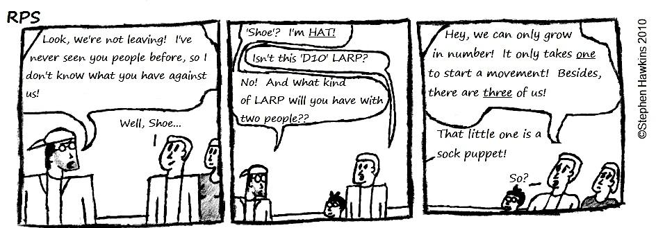 #32 - Spite LARP, pt 2